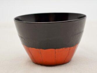 ちょこカップ 黒漆朱漆の画像