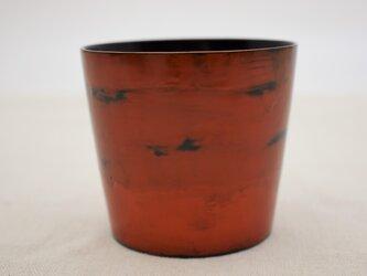 ちょこカップ 黒漆朱漆研出の画像