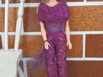 ★sale バービーのレースドレスと帽子(2)の画像
