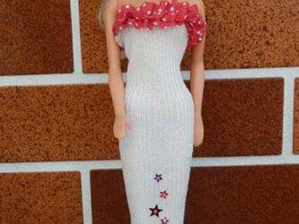 ★sale バービーの白いドレス(5)の画像