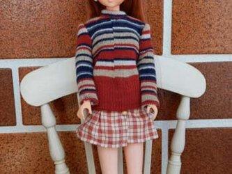 ★sale ジェニーのストライプセーターとスカート(4)の画像