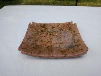 白汀釉(はくていゆう)角皿の画像