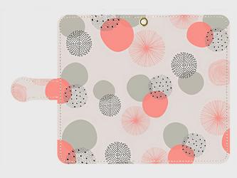 北欧デザイン 「春のヒカリ」 アンドロイドLサイズ専用 手帳型スマホケースの画像