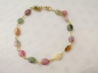 K18 Tourmaline Braceletの画像