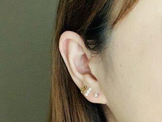 〔14kgf 〕 Chou    hematite ・ pearlの画像