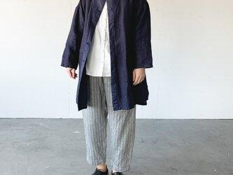 asabukuro coat [navy]の画像
