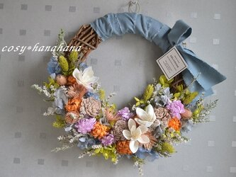【母の日2020】アイスカラーの花暦wreathの画像