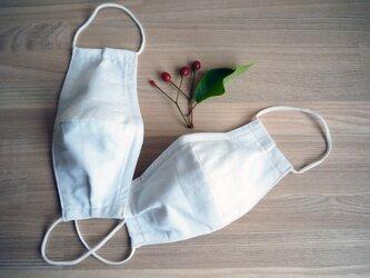 立体型マスク ノーズワイヤー入り(肌触りの良い着物の裏地綿100%利用)の画像