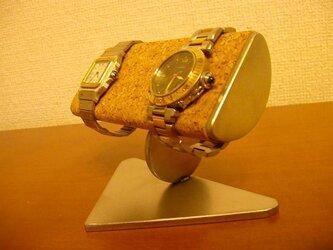 プレゼントに 半円パイプ腕時計スタンドの画像
