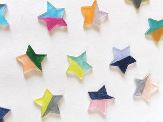 星ピアス( 8colors )/プラバンの画像