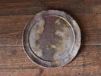 備前焼 皿(約26cm) sr4-062の画像