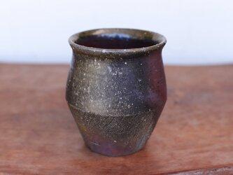 備前焼 フリーカップ(野草) f1-064の画像