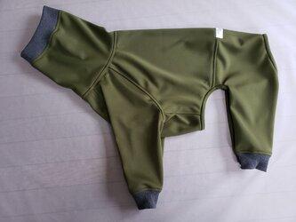 犬服 オーダーメイド品:K様ドーベルマン用フルスーツ の画像