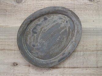 たまご皿 鉄錆の画像