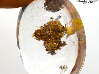 虹島の水晶★ガーデンクォーツ ルース カポジョンgar030の画像