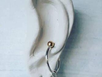 Drop earcuff  ハートsの画像