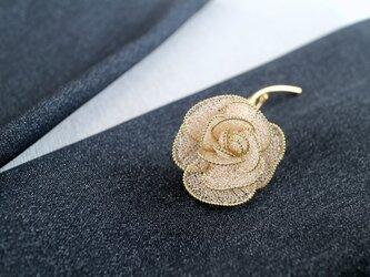 薔薇のブローチ・ロングステムAの画像