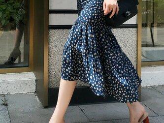 【受注製作】美しい100%シルクで・ロング人魚姫スカート シルク の画像
