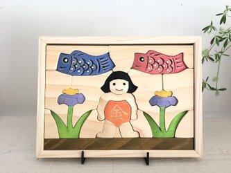 立体パズル(M)  金太郎の画像