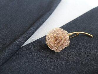 薔薇のブローチ・ロングステムBの画像