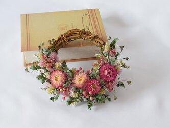 春風と小手毬のミニリースの画像