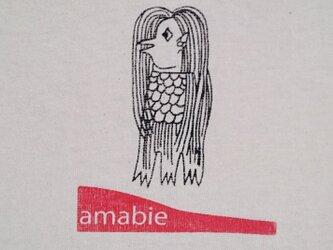 妖怪Tシャツadult アマビエ / あまびえの画像