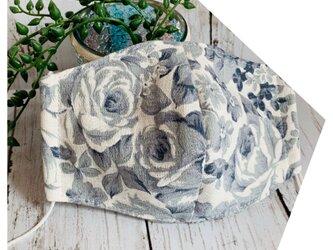 立体マスク●植物ボタニカルの画像