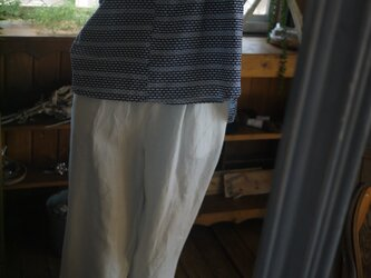 浴衣反物から後ろギャザー切り替えのトップスの画像