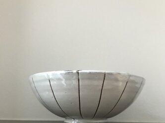 粉引きお茶碗ラインの画像