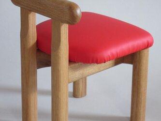 子供椅子■NAGY 018-OKO・ST■ W250xD260xH330(SH220)の画像