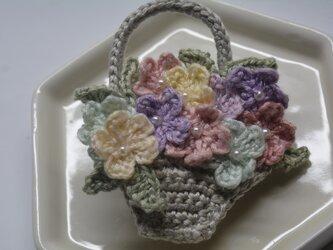 小花の花籠・2wayの画像