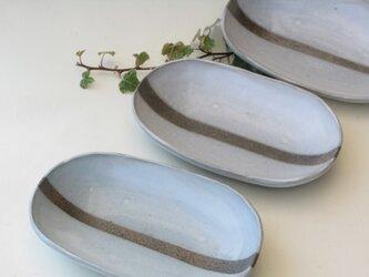 LINEの楕円皿の画像