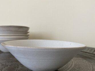 白ザラメ釉鉢の画像
