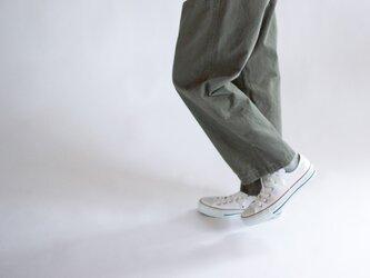 army code /baker pants/size1&2/khaki の画像