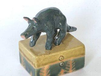 陶ハコ「つちぶた」の画像