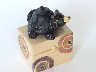 陶ハコ「ぶんぶくちゃがま」の画像