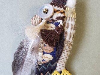 IRODORI AZ brooch(ハヤブサ)の画像