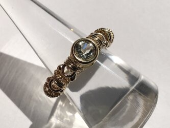 『 Strength & grace ( inner ) 』Ring by K14GFの画像