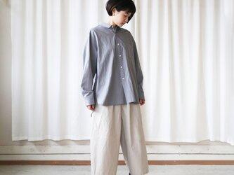 コードレーンビッグシャツ(ライトグレー)【ユニセックス】の画像