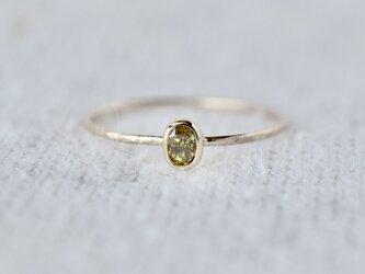 Whisper oval ring #995の画像
