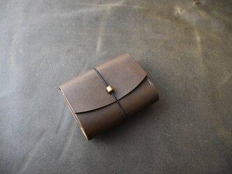 お財布 焦げ茶の画像