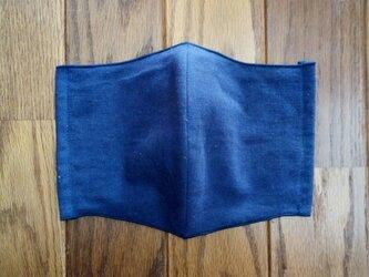 メンズ立体マスク 両面手ぬぐい布の画像