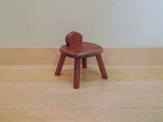 ケヤキの子供椅子 NO.04の画像