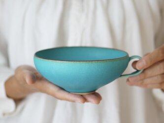 スープカップ・サラダボウル・鉢 (ターコイズブルー/トルコ青)の画像