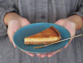 小皿・デザートプレート 16㎝(ターコイズブルー/トルコ青)の画像