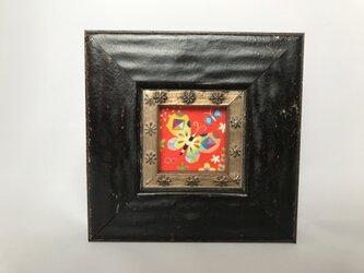 色鉛筆ミニミニ作品「チョチョ」の画像
