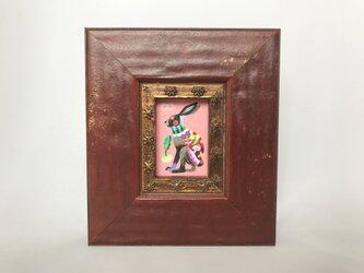 色鉛筆ミニミニ作品「ラビ」の画像
