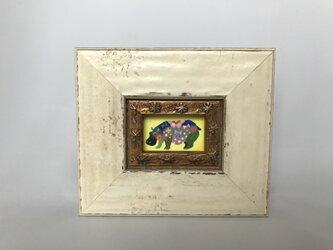 色鉛筆ミニミニ作品「ミーシャ」の画像