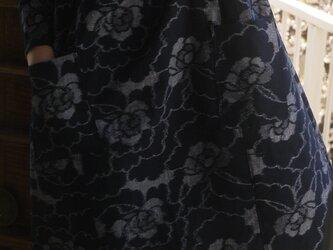 S様専用 久留米絣Aラインワンピースの画像