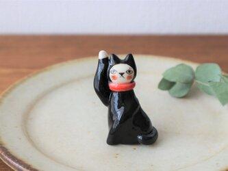 フランスの招き猫 ( 黒猫 )の画像